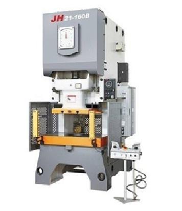Пресс типа заднего открытого с сухим сцеплением и с гидравлической защитой от перегрузок Серия JH21