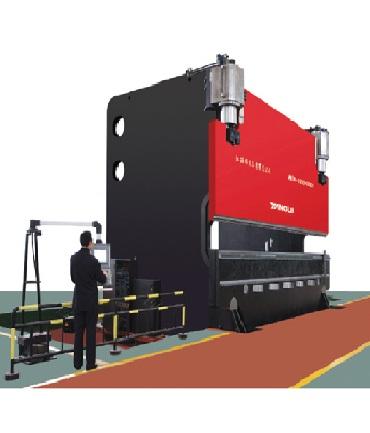 Электрогидравлический сервоприводный листогибочный станок с ЧПУ Серия MB (крупнотоннажный)