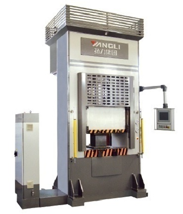 Высокоскоростной высокоточный гидравлический пресс с ЧПУ и с электрогидравлическим сервоприводом Серия YL34K